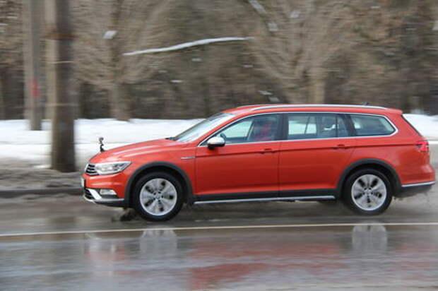 Новый VW Passat Alltrack: темпераментный витамин