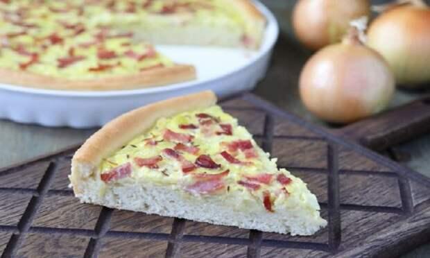 Немецкий луковый пирог: популярная несладкая выпечка