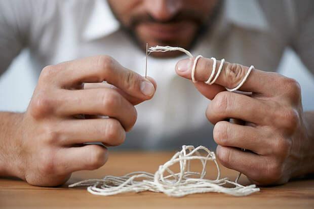 Вдеваем нитку в иголку: метод трения