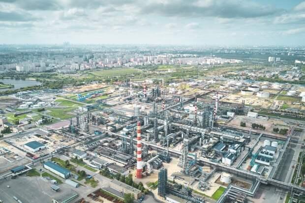 Московский НПЗ становится лучшим в Европе по экологическим характеристикам