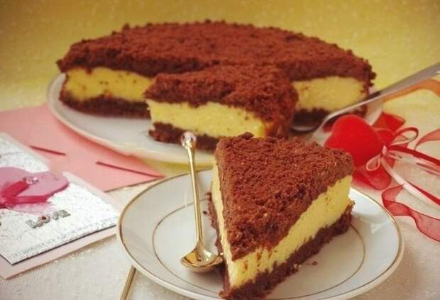 Торт «Творожок под одеялом»
