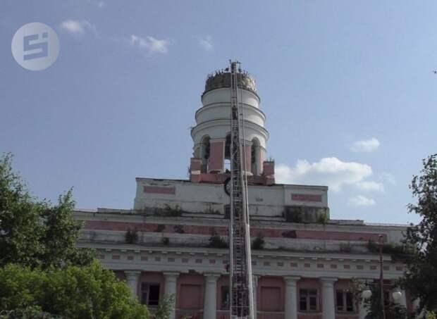 Порядка 12 млн рублей потребуется на экспертизу башни Ижмаша