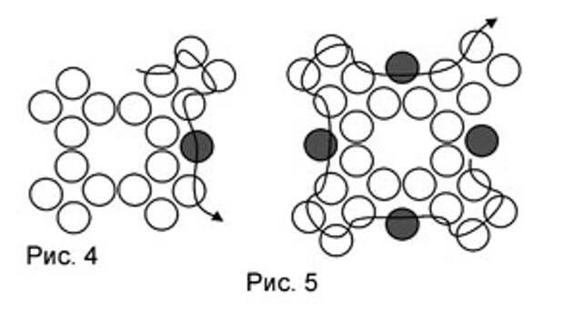 Плетение из бисера: схема кулона