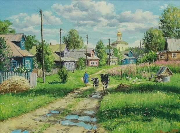 художник Олег Пятин картины – 09