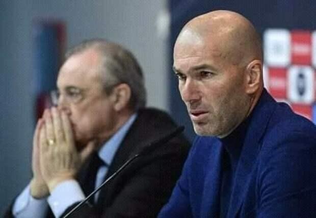 Зидан непокинет пост тренера «Реала»