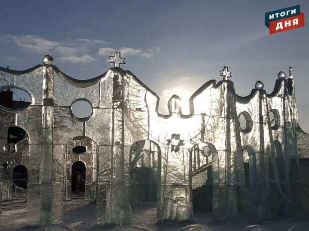 Итоги дня: фестиваль «Удмуртский лёд», попытка украсть икону и водопровод в микрорайоне «Столичный» Ижевска