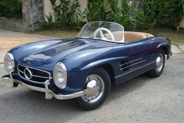 Mercedes 300 SL авто, игрушка, копия, миниавтомобиль, моделизм, модель, самоделка, своими руками