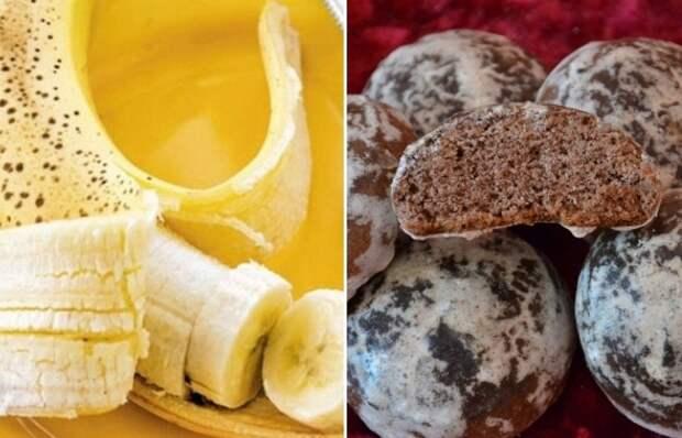 Рецепт шоколадно-бананового торта без выпечки.