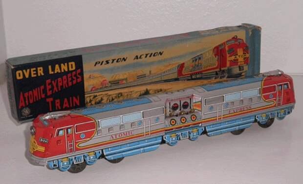 Атомный поезд, поезд