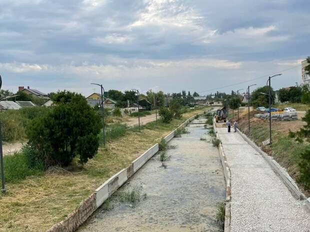 Ремонт пешеходной зоны вдоль реки Степная в Джанкое обойдётся в 20 миллионов рублей