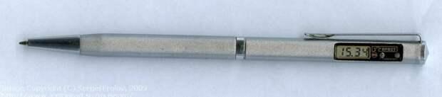 """Шариковая ручка с часами """"Брест"""". Часы показывали число и секунды СССР, гаджет, история, стиралка, техника, факты"""