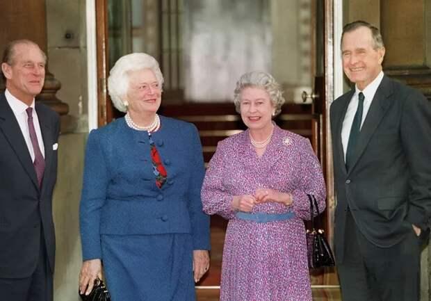 11 Президентов США иодна Королева: кого Елизавета учила печь искем обнялась