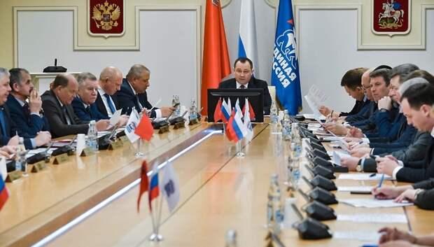 Брынцалов назвал приоритеты работы «Единой России» в Подмосковье в 2020 году