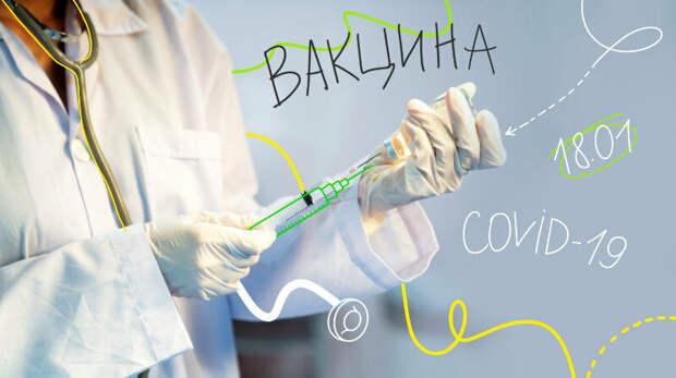 Массовая вакцинация от коронавируса началась в России