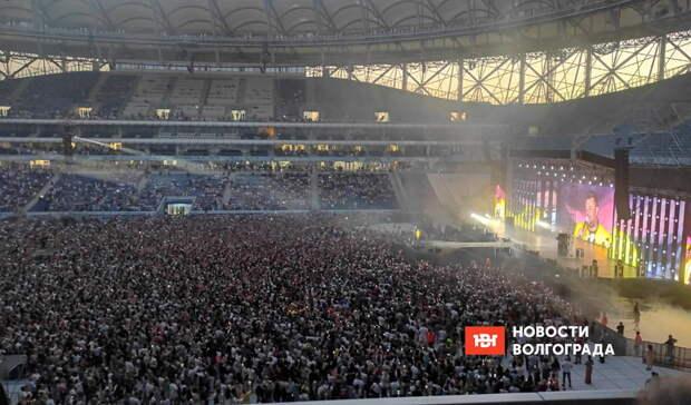 Концерт «Руки вверх» вВолгограде собрал всего лишь половину стадиона