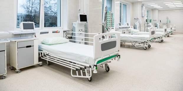 Собянин осмотрел строящийся лечебно-диагностический комплекс ИКБ №1/Фото: М. Мишин mos.ru