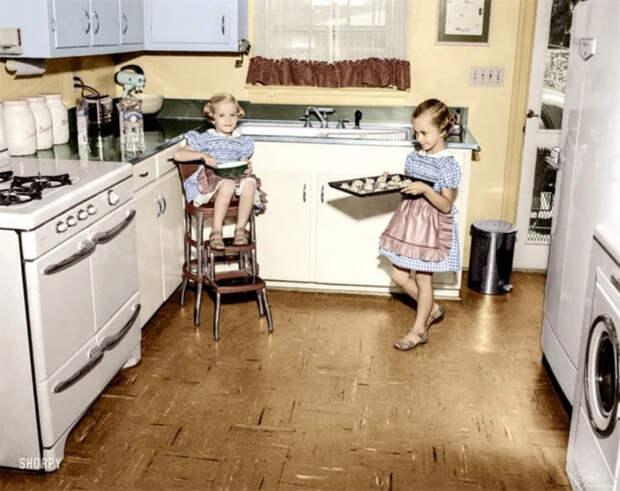 Как жили в США пятидесятых годов.