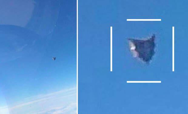 Пентагон подтвердил подлинность видео с неопознанным объектом треугольной формы