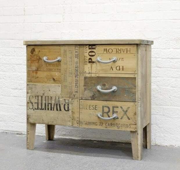 Восстановленный мебель Crate