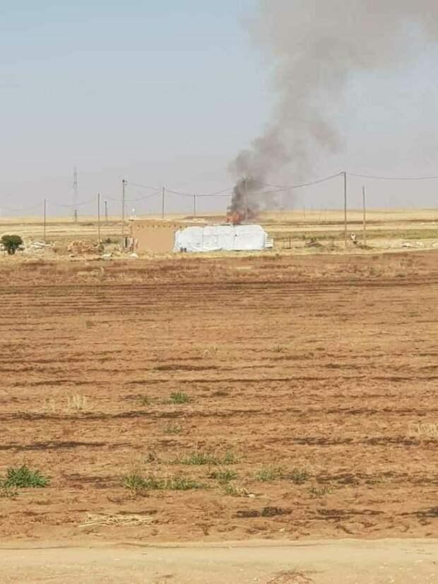 США атаковали блокпост САА в районе Камышли