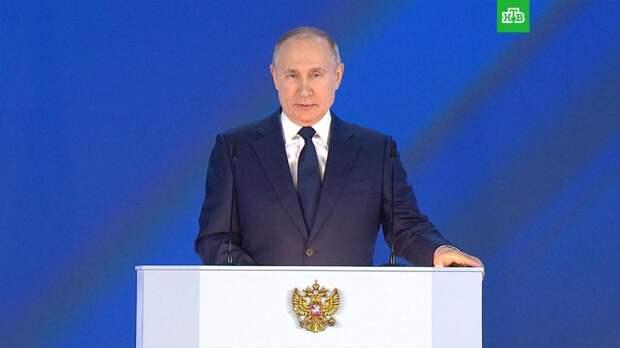 Путин: сбережение народа — высший национальный приоритет России