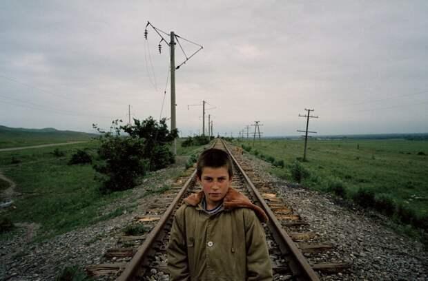 Чеченские беженцы в Ингушетии. Начало 00-х.