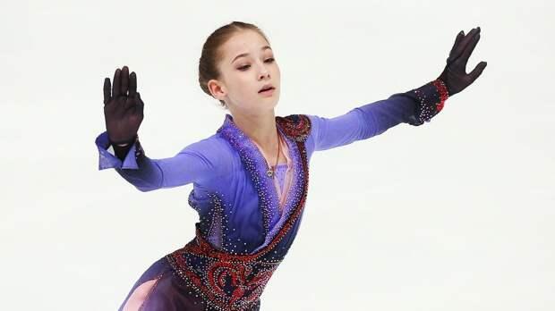Юная ученица Тутберидзе - гений. Божественно выступила в финале Кубка России