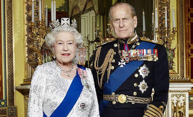 Умер муж королевы Елизаветы II принц Филипп