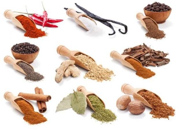 8 приправ и специй, особенно вредных для здоровья