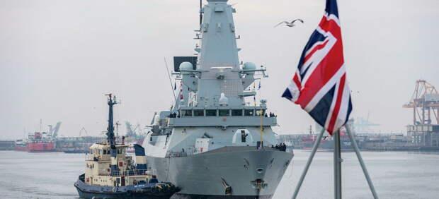 В Киеве осознали, что британские корабли не остановят Россию