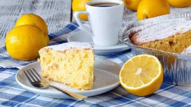 Кокосово-лимонный пирог: простой рецепт