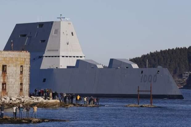Дорогостоящая иллюзия Пентагона эсминец USS Zumwalt (DDG-1000)