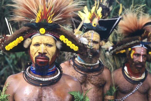 Бразильские индейцы племени тапирапе