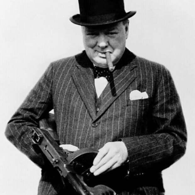 Уинстон Черчилль как массовый убийца
