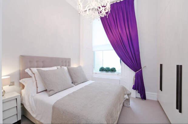 Как выбрать шторы в маленькую комнату