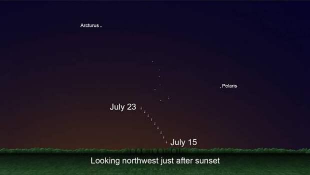 ☄️ Сегодня над Землей пролетит комета NEOWISE. Вот как её увидеть