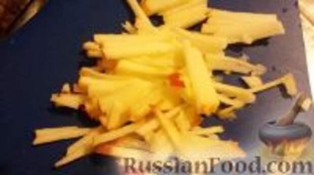"""Фото приготовления рецепта: Салат """"Витаминный"""" - шаг №5"""