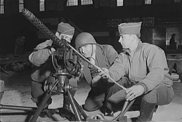 Американские зенитные пулемёты