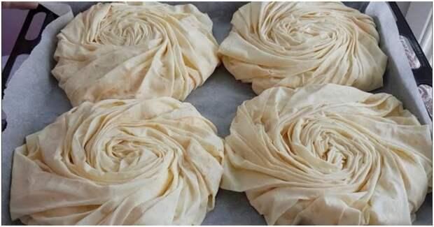 Пикантный и вкусный обед или ужин: сочная начинка и тонкое хрустящее тесто
