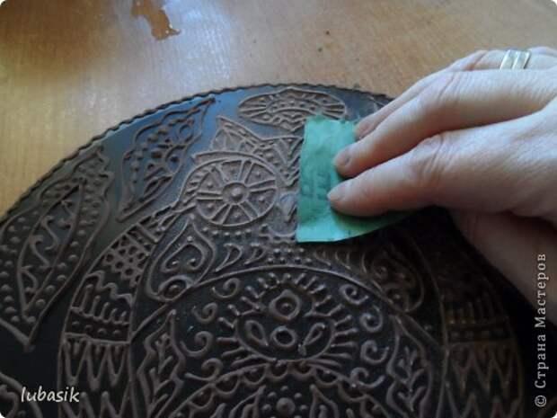 Декор предметов Мастер-класс Роспись Как я делала панно - по просьбам мастериц фото 33