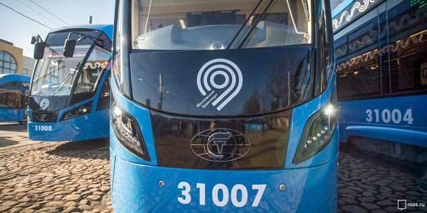 Движение трамваев №17 на проспекте Мира восстановлено после аварии