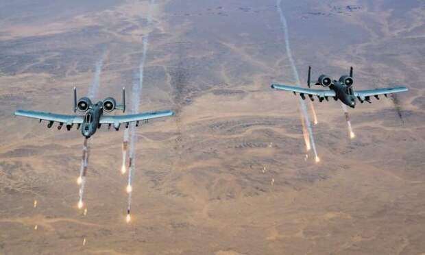 СМИ: Авиация США активизировала атаки поталибам