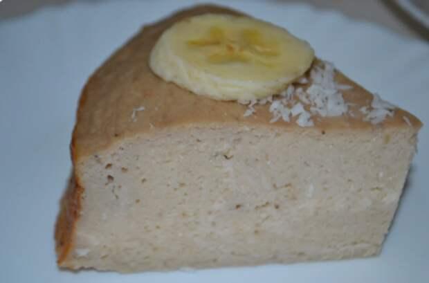 Творог, банан и 1 яйцо: уже три дня подряд готовлю этот пирог