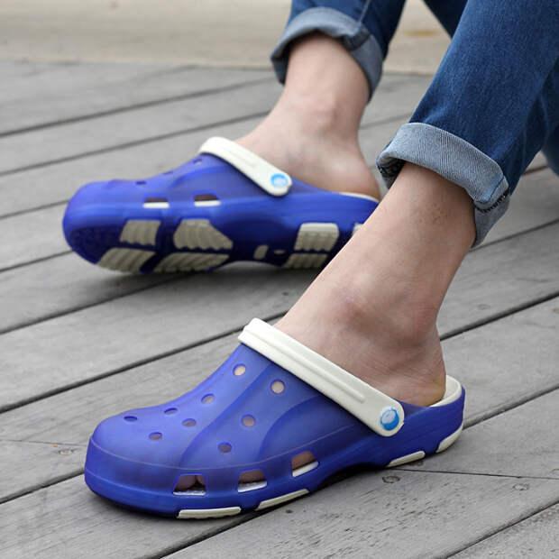 Закрытый нос обуви убережет от травм. /Фото: img01.taobaocdn.com