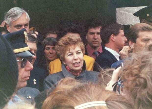 Раиса Горбачева в Миннеаполисе, 1991   Фото: diletant.media