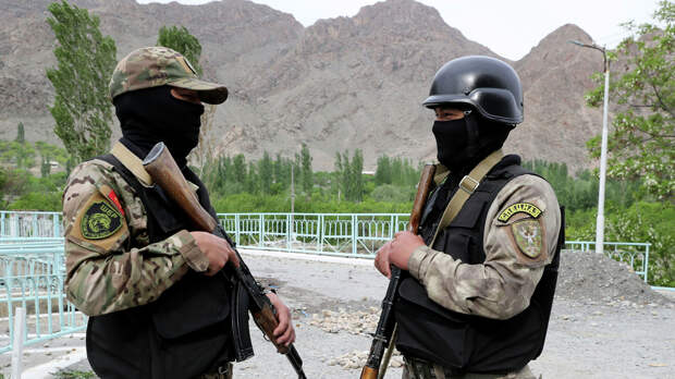 На границе Киргизии и Таджикистана произошла новая перестрелка