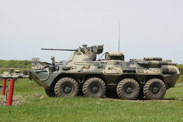 Результаты производства БТР-82А(М)