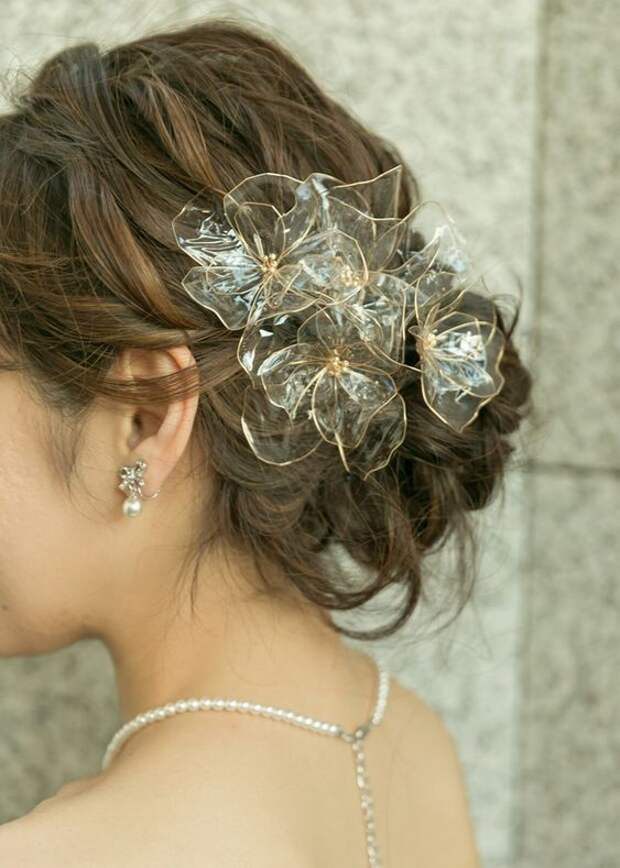 свадьба украшения для прически