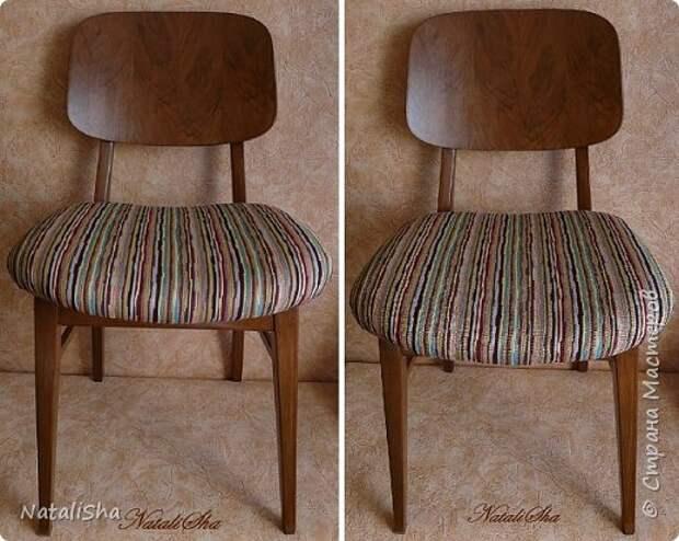 """""""Убитый"""" стул... Этапы полной реставрации..."""