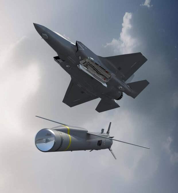 """Ракетный комплекс """"Копье"""" MBDA SPEAR 3 для F-35"""